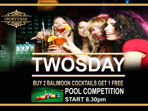 TUESDAY POOL COMPETITION